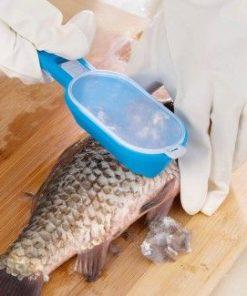Нож за риба за почистване от люспите - пластмасов