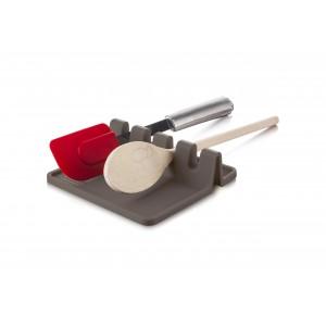 TOMORROW`S KITCHEN Поставка за прибори за готвене - сива
